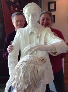 Alexander Technique teachers Terry Fitzgerald and Pamela Blanc